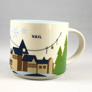 """Vail Starbucks """"You Are Here"""" Collection Mug"""